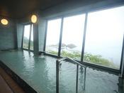津軽海峡を一望できる展望風呂(※男女)