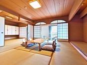 広々6畳+10畳2間の和室(特別室)