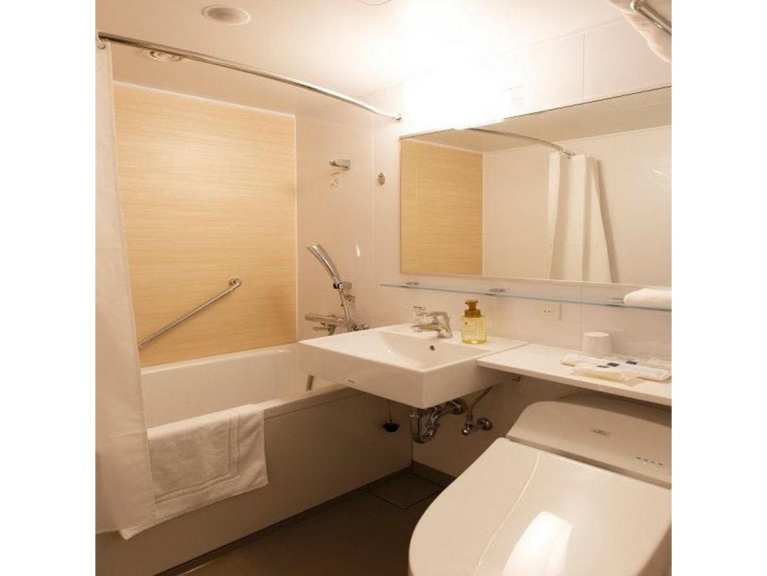 【スタンダードタイプ】清潔感溢れるバスルーム☆エアインふんわりシャワーです