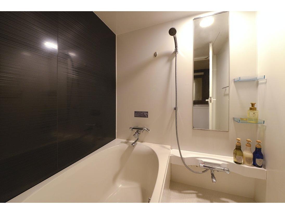 ツインルームバスルーム。バス・トイレが独立しています。