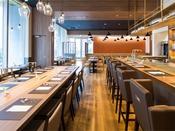 2Fテナントレストラン「レストラン&バー ベルマルシェ」。朝食・昼食・夕食を提供しています。