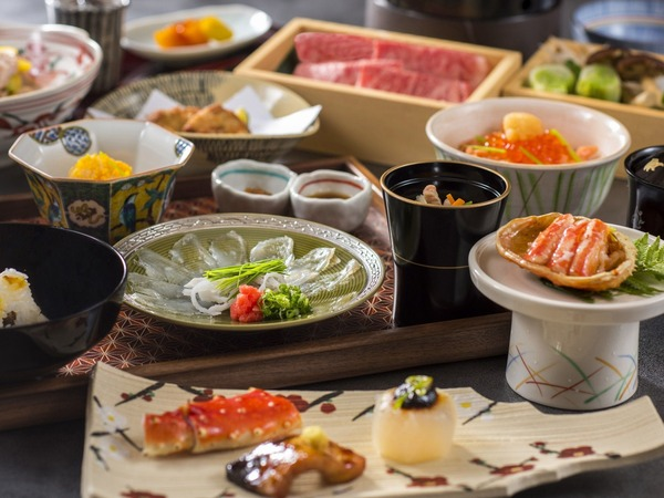 ご夕食『茶懐石風料理』(一例)