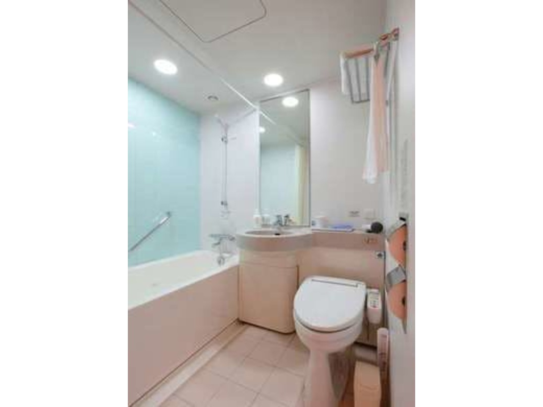 客室シングルユニットバス/全室シャワートイレ完備