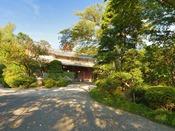 *外観/箱根湯本駅からわずか10分ながら、まるで深山のような静けさが味わえる玉庭。