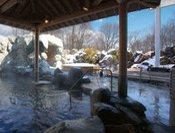 ★奥軽井沢温泉/冬は雪見風呂をお楽しみいただけます