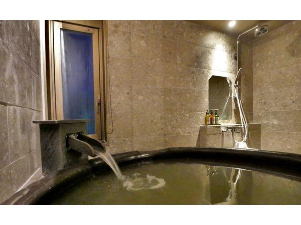 温泉付モダン和室の一例