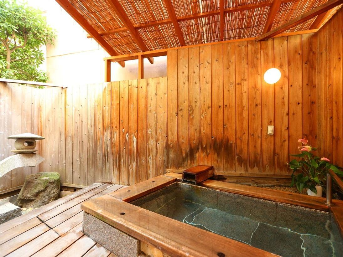 ■露天風呂付きのお部屋