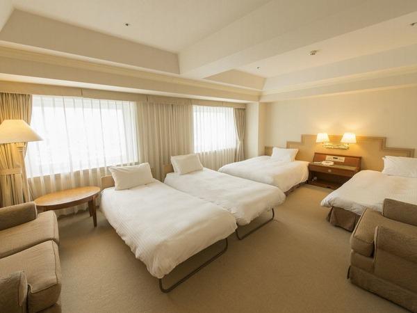 ■デラックス4ベッド(41平米)