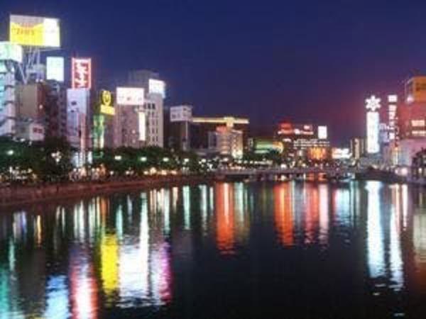 博多中洲夜景