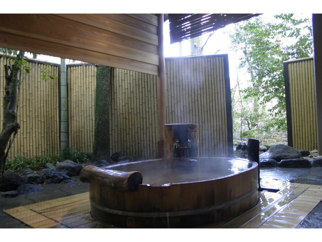 「向月亭」客室露天風呂