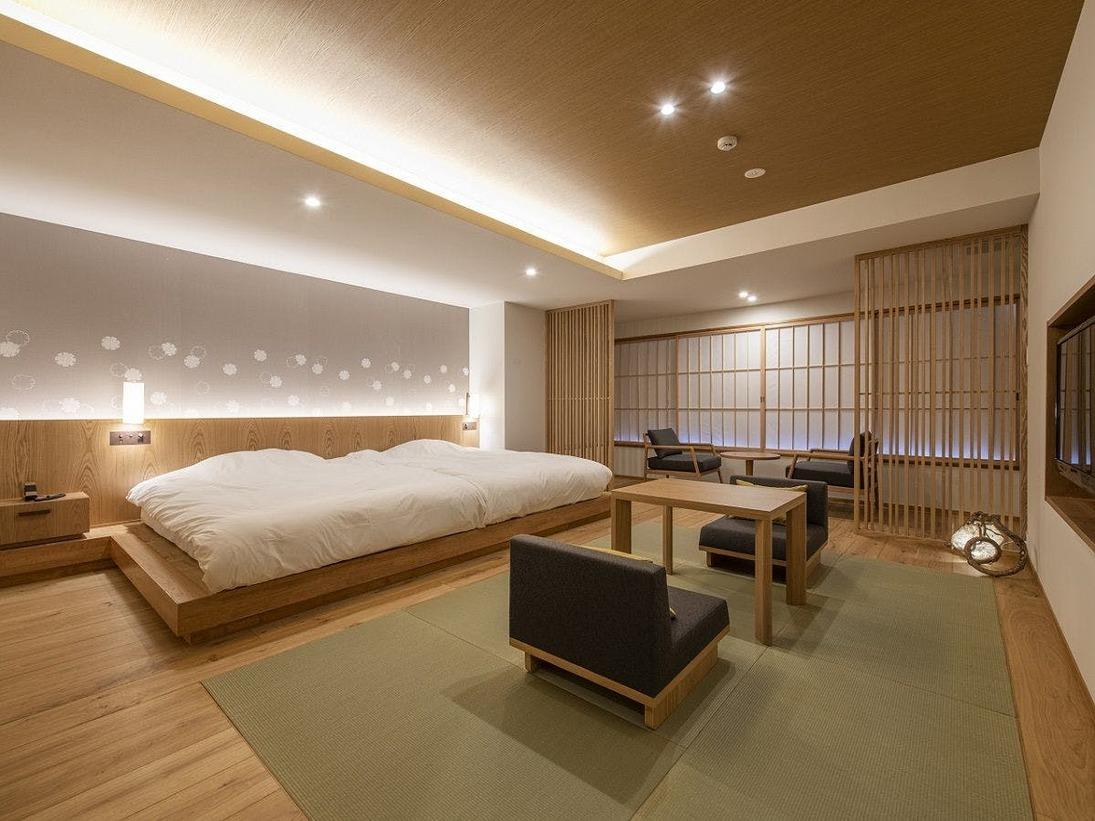 シンプルでスタイリッシュなお部屋となっております。