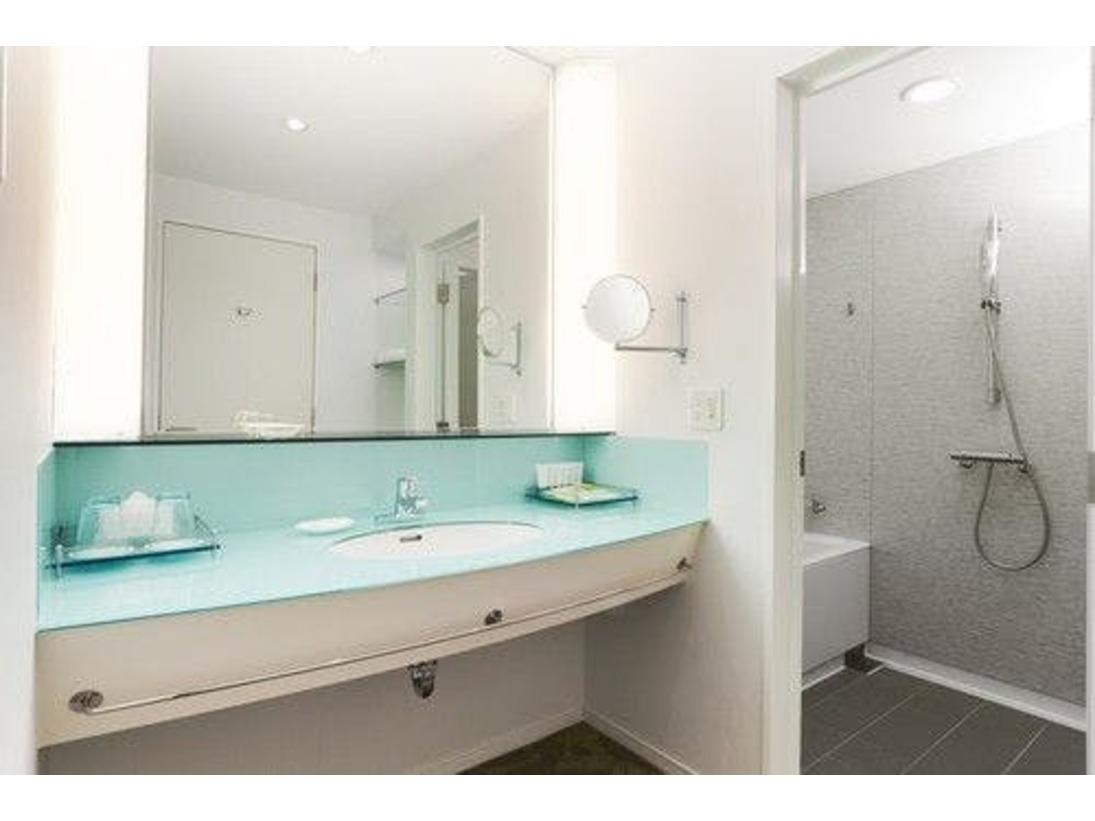 洗面、トイレ、バスルームをそれぞれ独立させた3フィクスチャー