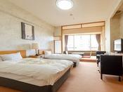 ■洋室の一例:様々なタイプがあり小上がりのない客室もございます(Wi-Fi可)