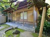 *庭園/『茶室仁庵』敷地は2000坪、自慢の日本庭園では静かな時間をお過ごしいただけます。