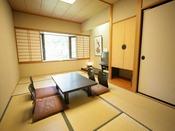 名取川沿いで眺望の良い和室7.5畳間