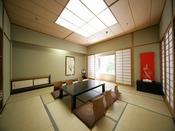 名取川沿いで眺望の良い和室12畳間