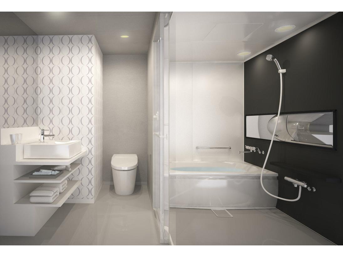 バスルーム(イメージ)トイレと別々の独立タイプバスルーム