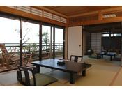 海悠亭/木製の露天風呂付き