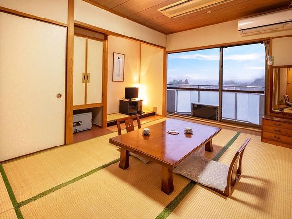 【湖側‐和室】