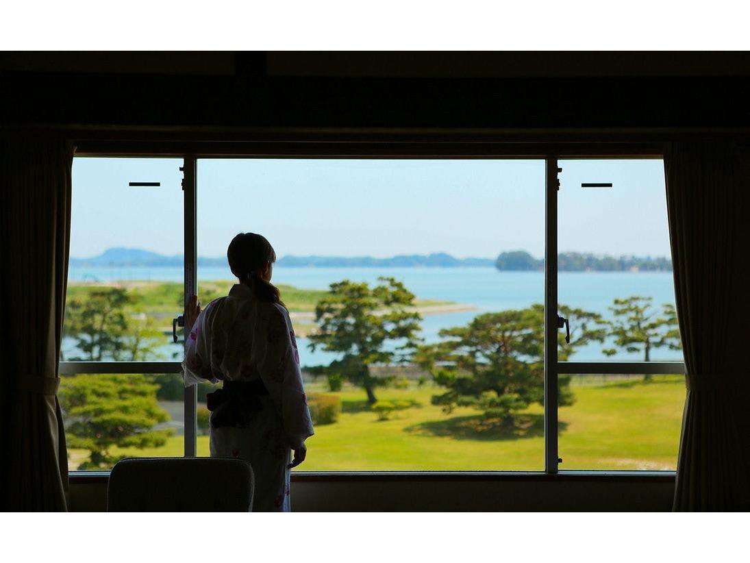 【高城舘】和室からの景観 一例