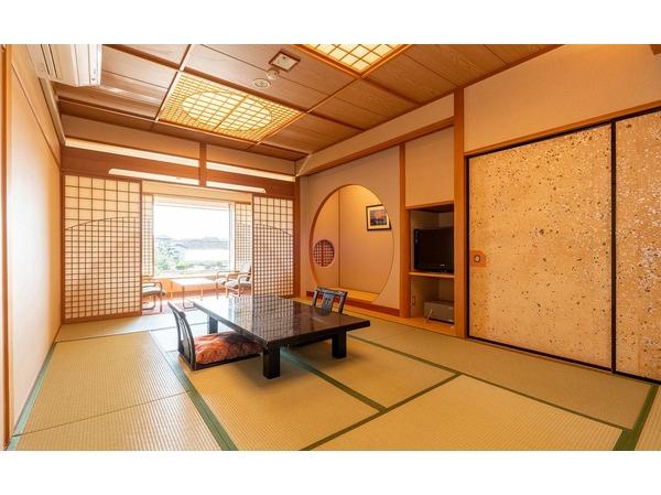 磯崎館-和室12畳+4.5畳(海側)