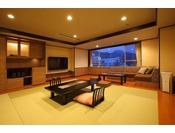 和モダン「ゆの香」お部屋の一例