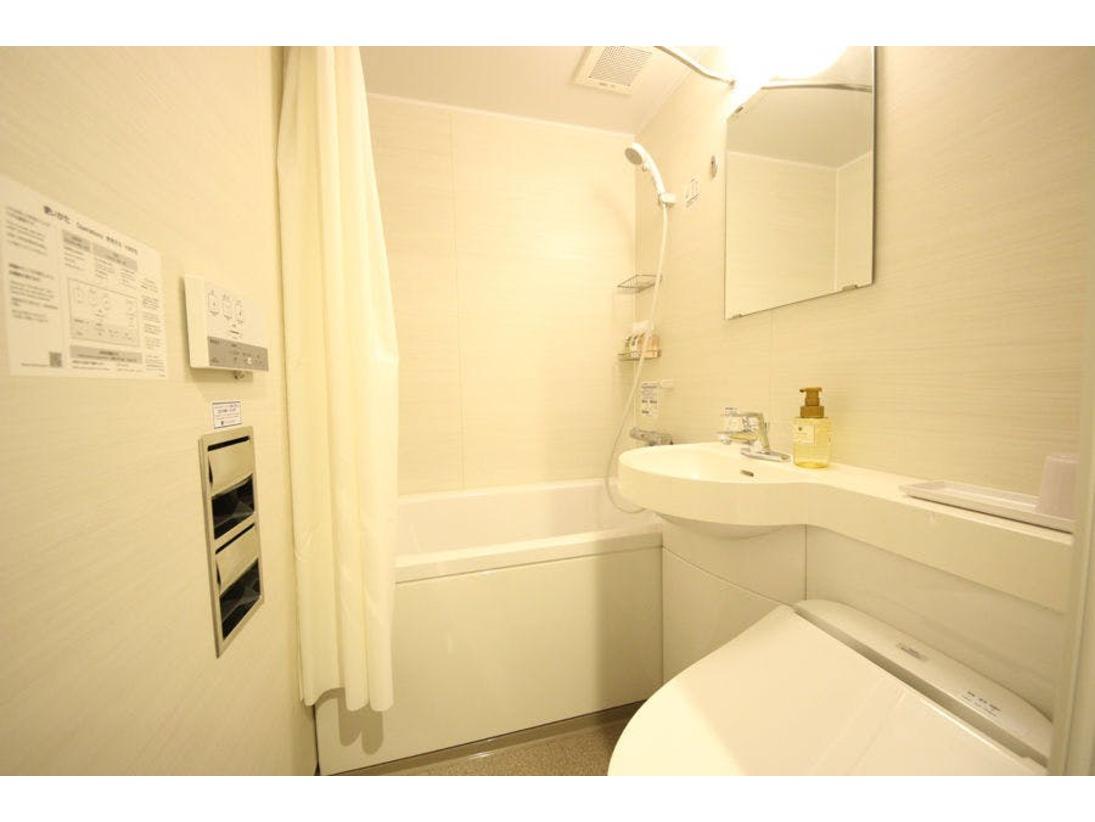 バスルームはユニットタイプとなります。