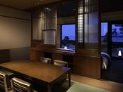 2014年11月オープン 特別室 奏水(かなみ)の間 「水ノ綾-mizunoaya-」