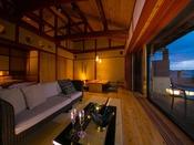 【離れ客室 海鈴】古から伝わる郷土建築の和空間が誘うどこか懐かしく心地よい安らぎのひととき