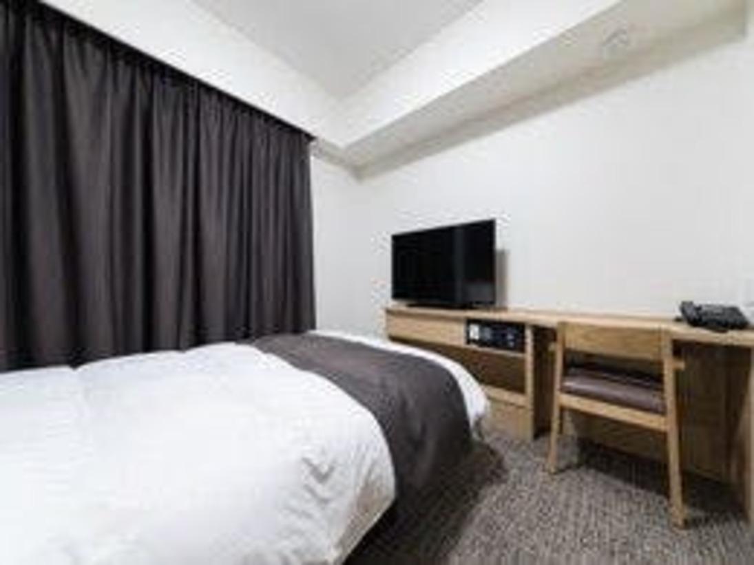 ◇禁煙・喫煙◇ダブルルーム 15平米 ベッド140×195センチ