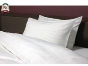 全てのお部屋に硬さの違う枕が2種類ご用意しております。お客様のお好みに合わせてご利用頂けます。
