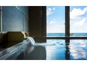 【貸切温泉 海-umi-】丹後の海に浸かるように温泉をお楽しみください。