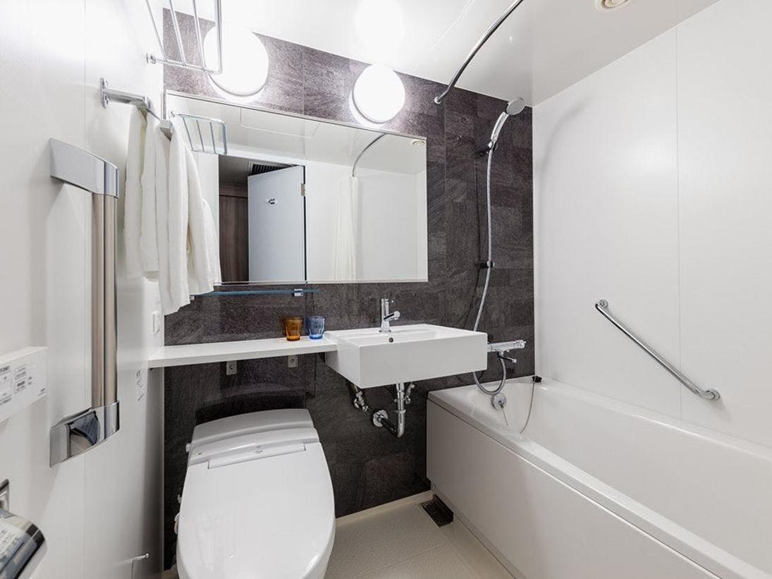 【風呂】バスルームバスルームはユニットバスをご用意しております。