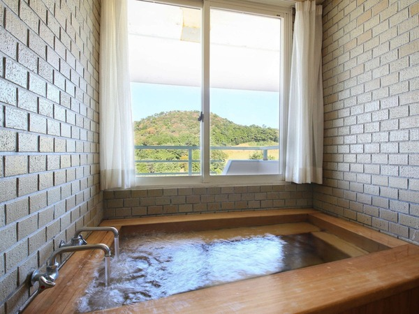 【セミスイート】和洋室ひのき風呂 一例