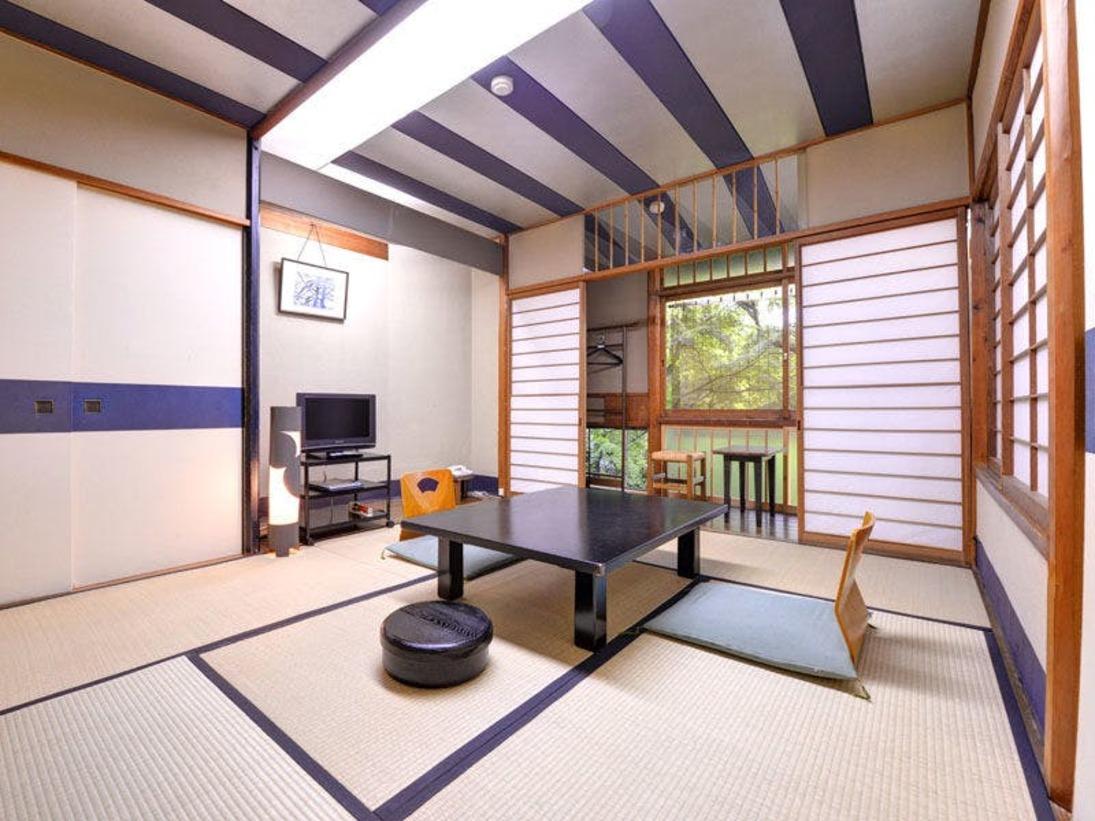 *和室7.5~8畳(例)カップルやお友達とのご旅行に 静かにお過ごし頂けます。※各部屋造りが異なります
