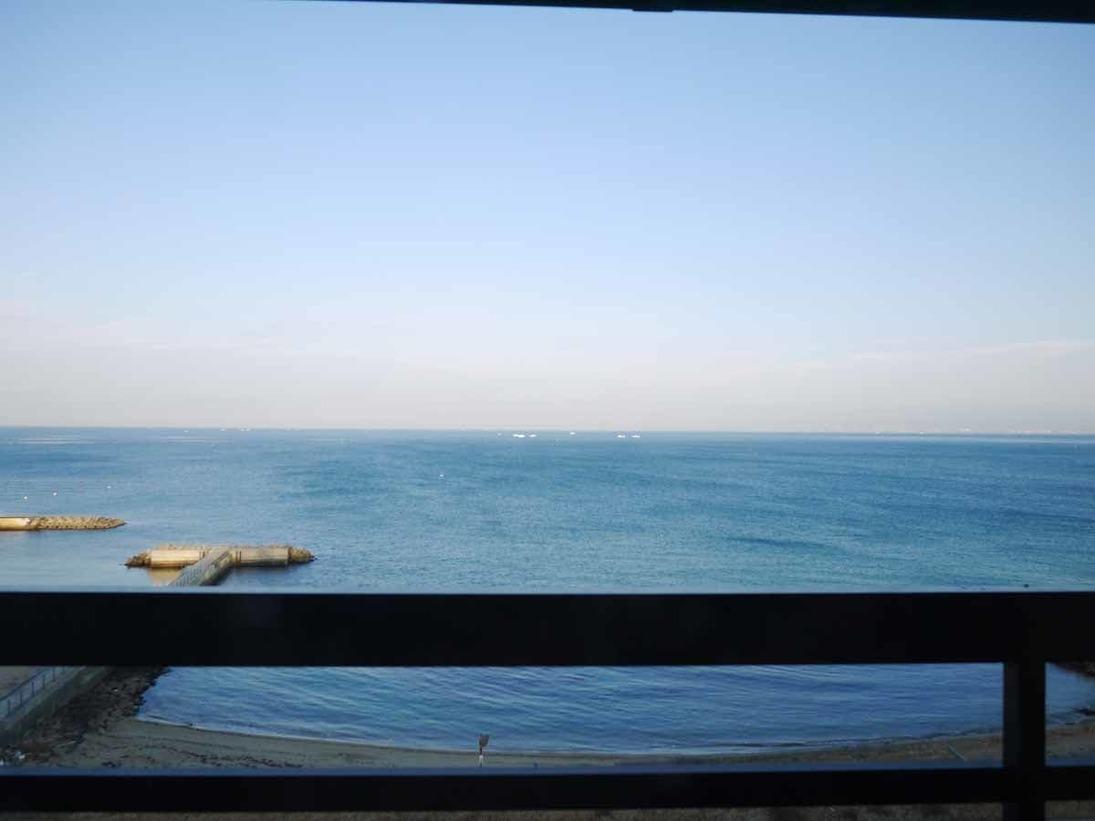 【全室オーシャンビュー】窓からの眺めです。