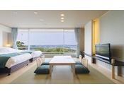 イーストウイング1F~4F海側客室例