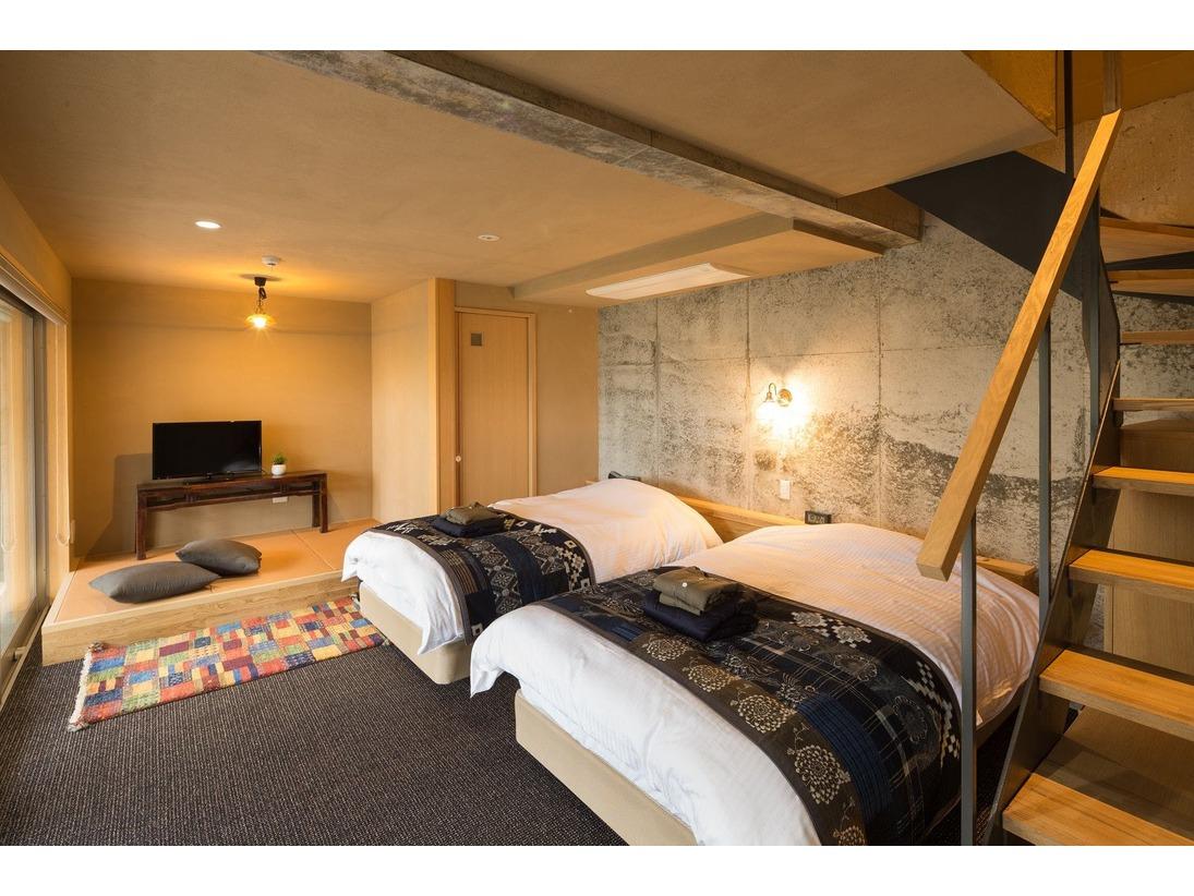 テラスハウス 寝室