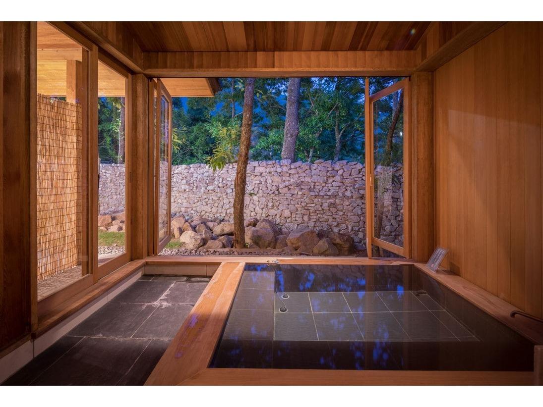 客室 縹 浴室