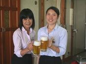 キリンドラフトマスター講習を受けたスタッフが注ぐ生ビールは美味しいこと間違いなし!!