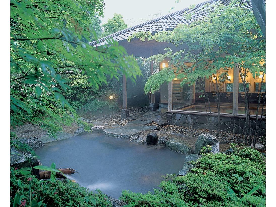 ■温泉■露天風呂~夏~