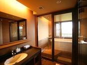 【和みフロア】展望檜風呂付特別室~展望桧風呂