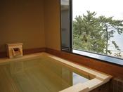 【和みフロア】展望檜風呂付特別室B~展望桧風呂