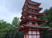 - 新倉山浅間公園 - 美しい富士の眺望と市内一円を見わたす桜の咲きほこる自然環境!富士吉田のキャッチコピー「ここにはいつもふじがある」はこの景色をみれば納得です♪
