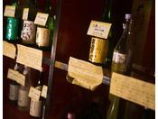 【地酒】地酒も豊富な栃木。地元の人間が厳選した、美味しいお酒だけを取り揃えています。
