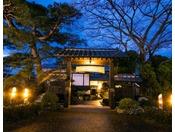 【外観】旧水戸藩の大自然に囲まれたのどかな田舎町。誰にも邪魔されない静かな宿でのんびりしませんか。