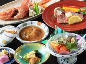 岩手の特産「前沢牛」や三陸産「吉次」など厳選したお料理をご堪能ください。