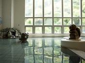 スパフロア「海風」芝右衛門の湯~洲本市の民話「芝右衛門たぬき」をモチーフにしたお風呂