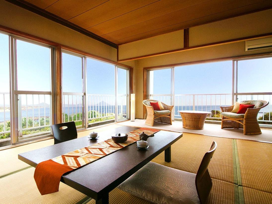 ◆16畳イメージ◆グループにぴったり★開門岳を望む絶景客室!