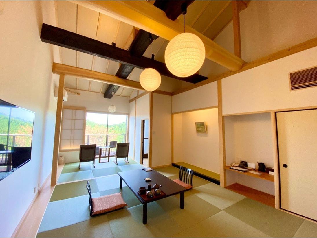 <2020年11月新築>【露天風呂付き特別室】和室10+4.5畳